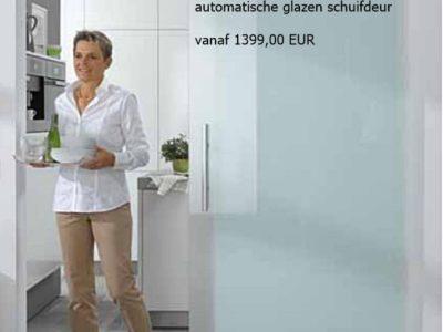 Automatische opening en sluiting vanaf 1399,00 EUR excl. BTW