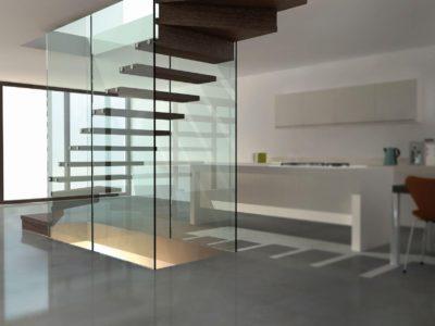 grazen balustrade trap